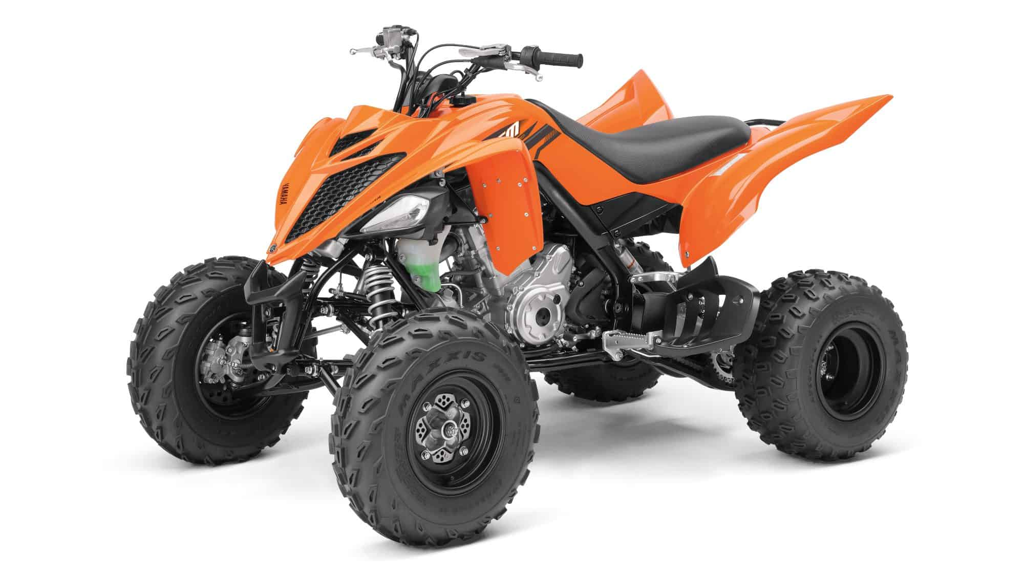raptor 700 orange (רפטור 700 כתום) מבט צד שני בהטייה של 15°