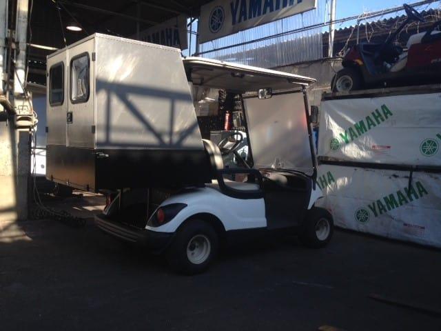 ארגז משא HEAVY DUTY אלומיניום לרכב תפעולי