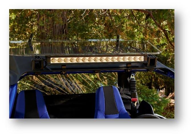 גשר תאורת לד לרכב שטח
