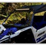 חלון קדמי מתקפל לרכב שטח