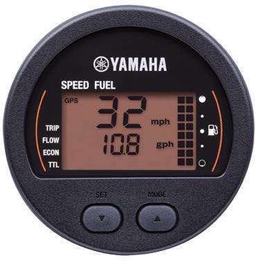 שעון מד מהירות- מד דלק דיגיטלי